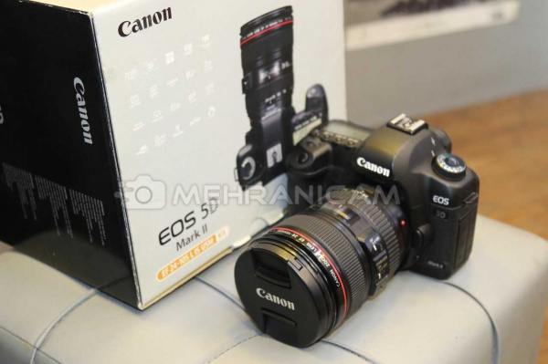 دوربین دست دوم Canon 5D mark ll Kit 24-105mm f4L IS