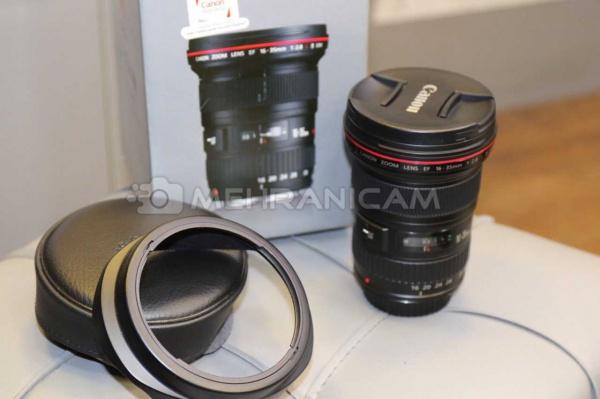 لنز دست دوم Canon lens 16-35mm f2.8L ll USM