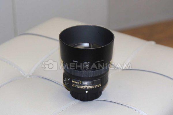 لنز دست دوم Nikon Lens 50mm f2.8 G
