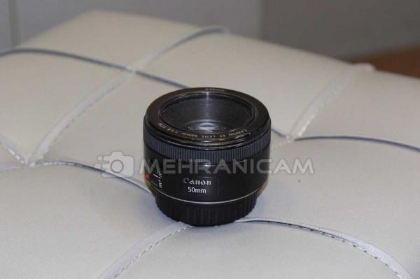 لنز دست دوم کنون Lens 50mm f1.8 stm