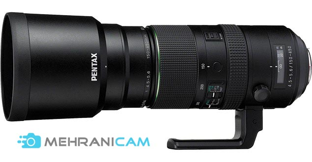 Pentax HD D FA150-450mm F4.5-5.6 ED DC AW