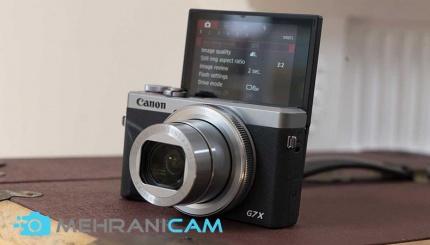 1- از بهترین دوربین ها برای تولید محتوای ویدئوی در سال 2020؛Canon PowerShot G7 X Mark III