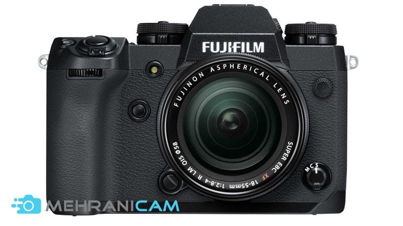 4- Fujifilm X-H1 از بهترین دوربینهای 4K برای فیلمبرداری