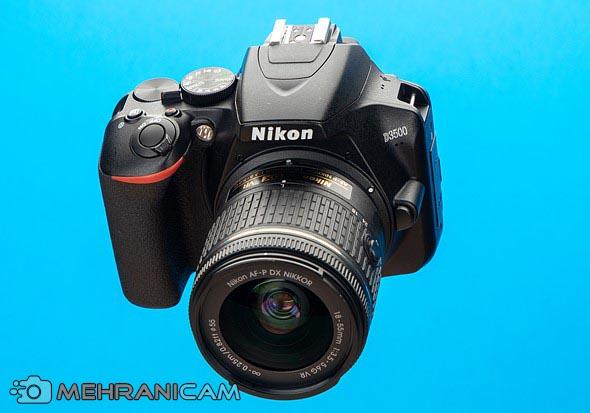 نمای ظاهری دوربین Nikon D3500