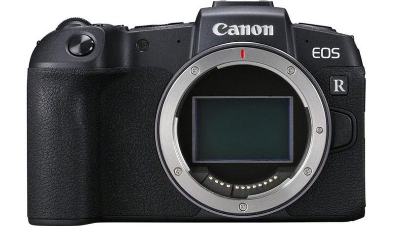 تصویر نمای مقابل دوربین Canon EOS RP