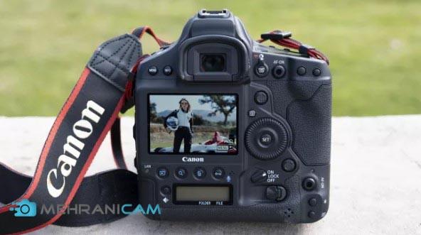 نمایی از عکس گرفته شده با دوربین عکاسی Canon EOS 1D X Mark III بر روی ال سی دی