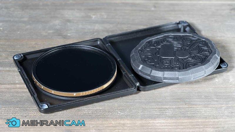 پولار پرو یک کیف مستحکم و یک کیس نرم برای محافظت از فیلتر طراحی کرده است.