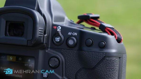 نمایی از دوربین Canon EOS 1D X Mark III