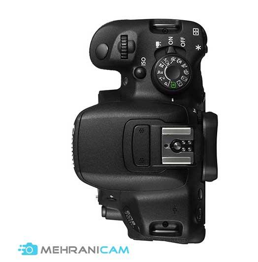منوهای دوربین canon 700d