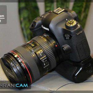 دوربین عکاسی دست دوم Canon 6D kit 24-105 f4L IS USM+ girip