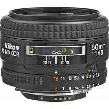 Nikon 50mm f.1.4D