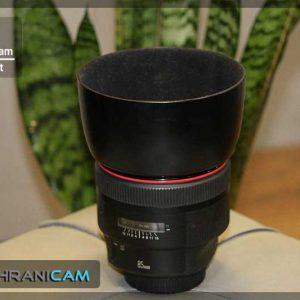لنز دست دوم Canon Lenz 85mm f/1.2L ll USM به همرا هود لنز