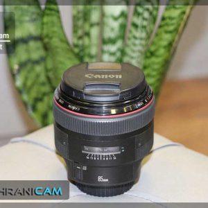 لنز دست دوم Canon Lenz 85mm f/1.2L ll USM