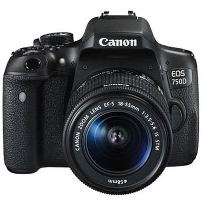 دوربین کانن ای او اس 750دی با لنز 18-55