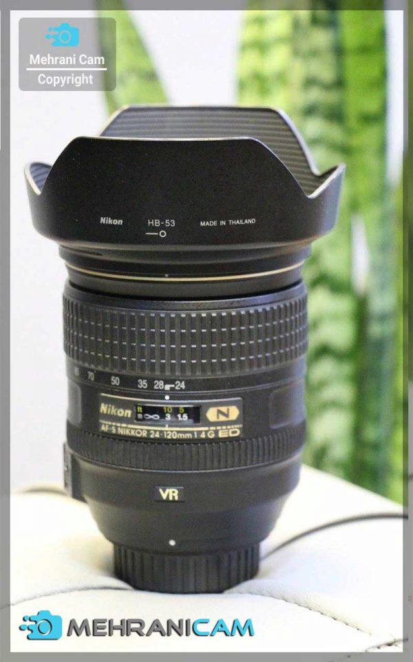 لنز دست دوم Nikon Lens 24-120mm f4 ED