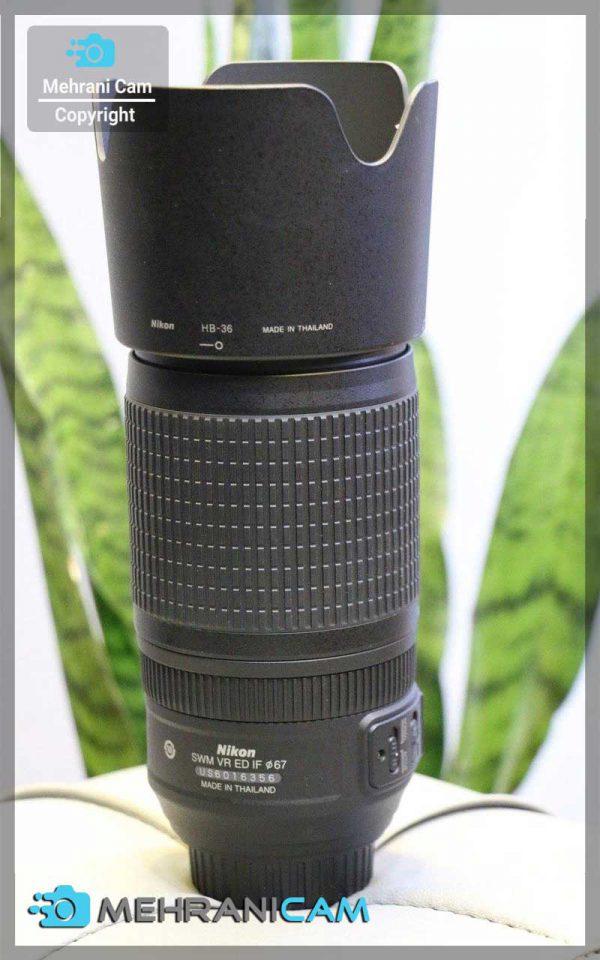 Nikon Lens 70-300mm f4.5-5.6 G