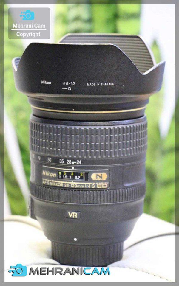 Nikon Lens 24-120لنز دست دوم