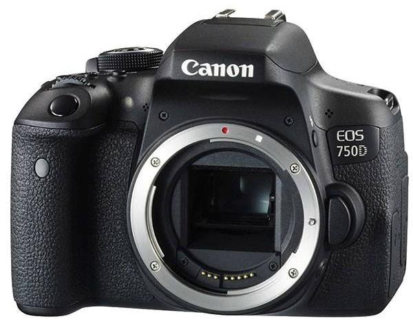 بدنه دوربین CANON EOS 750Dبدون لنز