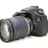 Canon 60D kit 18-200mm IS
