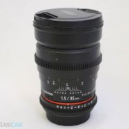 SAMYANG Lens 35mm f1.5 for canon
