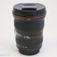 Canon Lens 17-40mm f4L