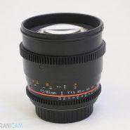 SAMYANG Lens 85mm f1.5 for canon