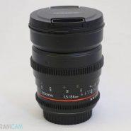 SAMYANG Lens 24mm f1.5 for canon
