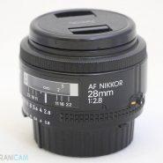 Nikon lens 28mm f2.8D