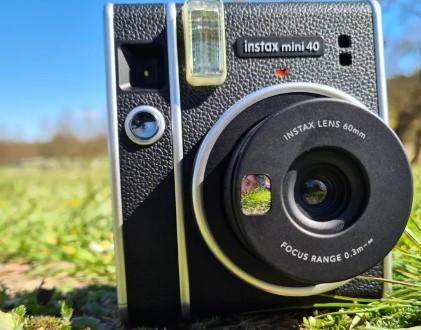 کارایی دوربین Fujifilm Instax Mini 40