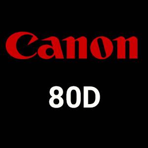 مجموعه دوربین های canon80d